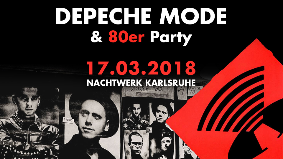 Depeche Mode und 80er Party